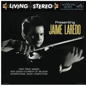 Presenting Jaime Laredo
