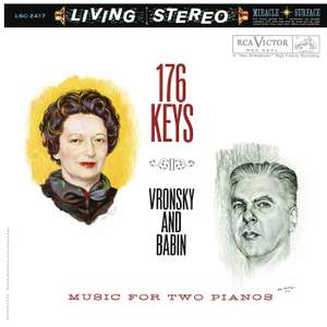 176 Keys: Music for Two Pianos Product Image
