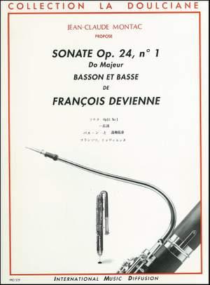 François Devienne: Sonate op 24 N°1 en do majeur