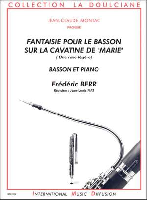 F. Berr: Fantaisie sur la cavatine de marie