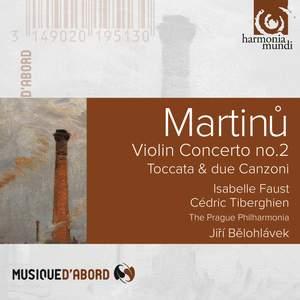 Martinu: Violin Concerto No. 2 Product Image