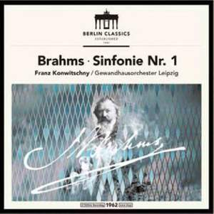 Brahms: Symphony No. 1 - Vinyl Edition