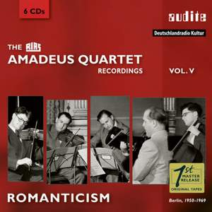 The RIAS Amadeus Quartet Recordings Vol. 5: Romanticism