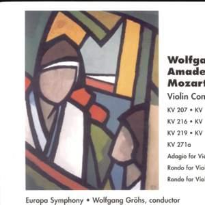 Mozart: Violin Concertos (3-CD-Box)