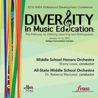 2016 Florida Music Educators Association (FMEA): Middle School Honors Orchestra & All-State Middle School Orchestra (Live)