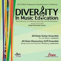 2016 Florida Music Educators Association (FMEA): All-State Guitar Ensemble & All-State Elementary Orff Ensemble [Live]