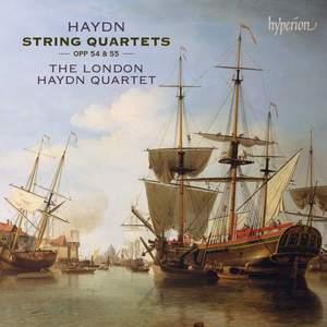 Haydn: String Quartets Opp 54 & 55 Product Image