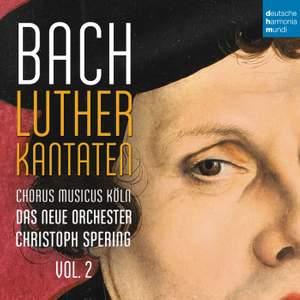 J.S. Bach: Lutheran Cantatas Vol. 2 BWV121, 125 & 14