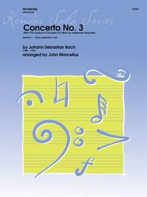 Bach, J S: Concerto No. 3