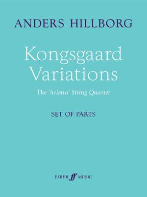 Hillborg, Anders: Kongsgaard Variations (parts)