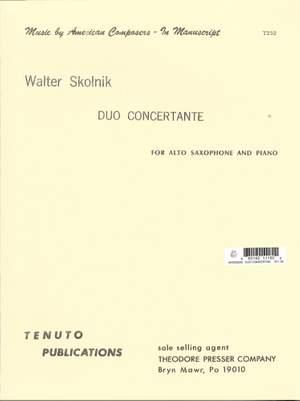 Walter Skolnik: Duo Concertante