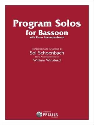 Robert Schumann_Ludwig van Beethoven_Giuseppe Verdi: Program Solos for Bassoon