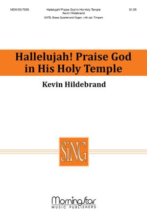 Kevin Hildebrand: Hallelujah! Praise God in His Holy Temple Product Image