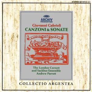 Gabrieli: Canzoni e Sonate