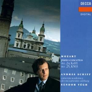 Mozart: Piano Concertos No. 24 & 25