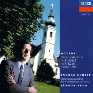 Mozart: Piano Concertos Nos. 8 & 11