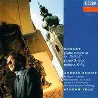 Mozart: Piano Concerto No. 26 & Quintet for Piano & Winds
