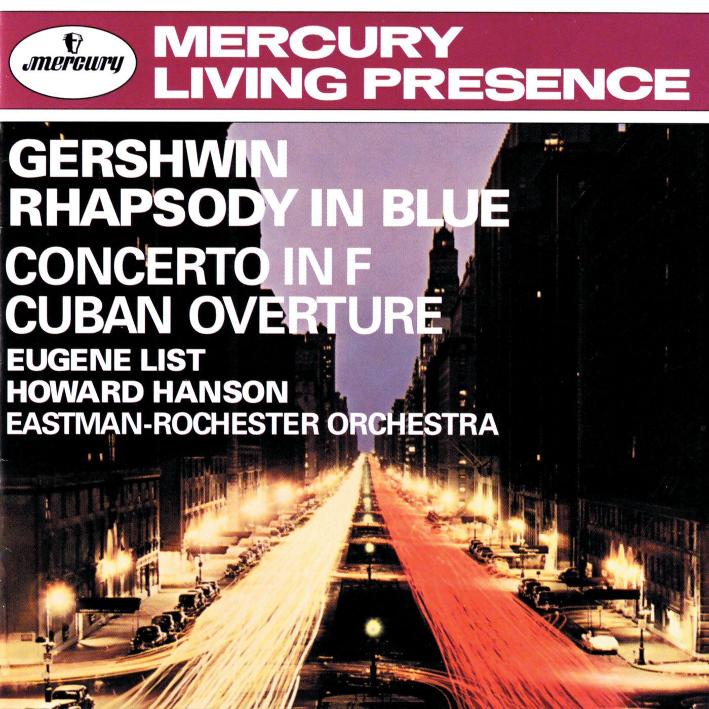 Hanson conducts Gershwin