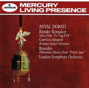 Antal Dorati conducts Rimsky-Korsakov & Borodin