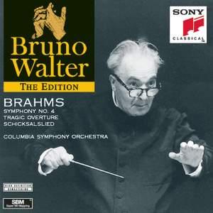 Brahms: Symphony No.4, Tragic Overture & Schicksalslied