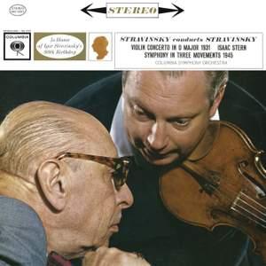 Stravinsky conducts Stravinsky: Violin Concerto & Symphony in 3 Movements