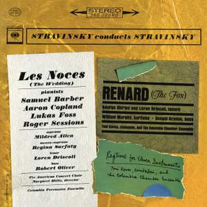 Stravinsky conducts Stravinsky: Les Noces, Renard & Rag-Time