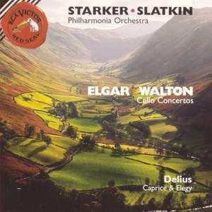 Elgar & Walton: Cello Concertos and Delius: Caprice and Elegy