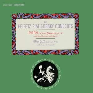 Dvorak: Piano Quintet in A & Francaix: Trio in C