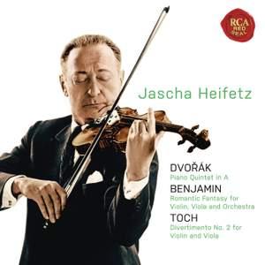 Dvorak, Benjamin & Toch: Chamber Music