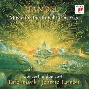 Händel: Music for the Royal Fireworks