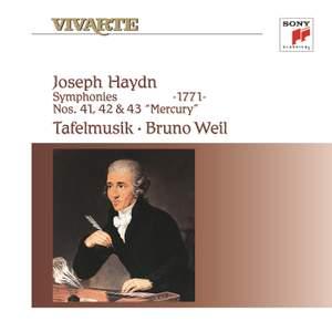 Haydn: Symphonies Nos. 41-43