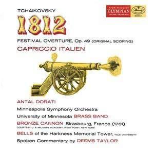 Tchaikovsky: '1812' Overture & Capriccio Italien - Vinyl Edition