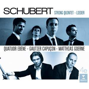 Schubert: String Quintet & Lieder Product Image