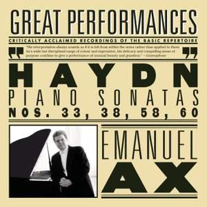 Haydn: Piano Sonatas Nos. 33, 38, 58 & 60