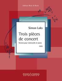 Laks, S: Trois pieces de concert