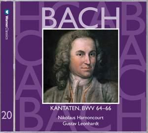 Bach, JS : Sacred Cantatas BWV Nos 64 - 66