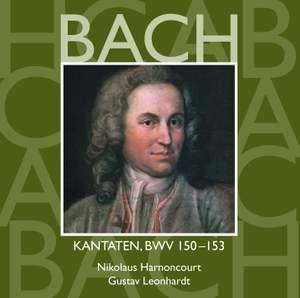 JS Bach: Sacred Cantatas BWV 150-153