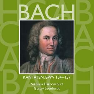 JS Bach: Sacred Cantatas BWV 154-157