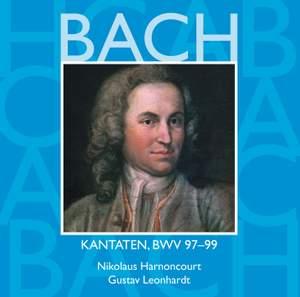 Bach, JS : Sacred Cantatas BWV Nos 97 - 99