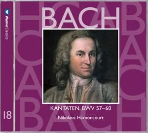 JS Bach: Sacred Cantatas BWV Nos 57 - 60