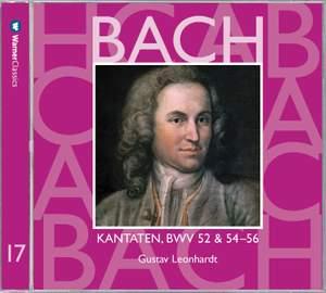 JS Bach: Sacred Cantatas BWV Nos 52 & 54 - 56
