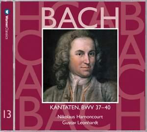 Bach: Sacred Cantatas BWV Nos 37 - 40