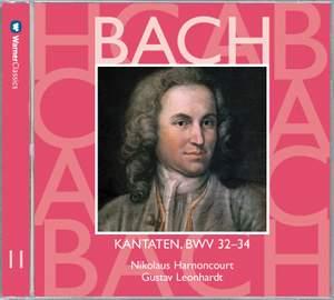 Bach: Sacred Cantatas BWV Nos 32 - 34