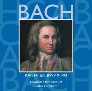 Bach: Sacred Cantatas BWV Nos 91 - 93