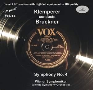 LP Pure, Vol. 25: Klemperer Conducts Bruckner
