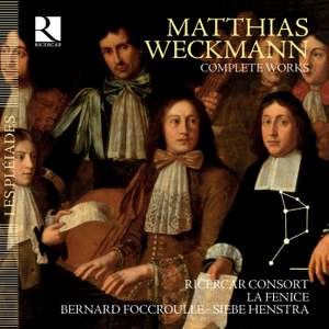 Matthias Weckmann: Complete Works Product Image