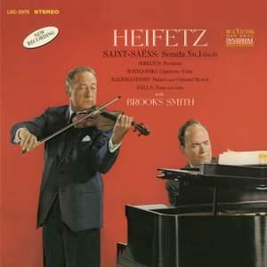 Saint-Saëns: Violin Sonata No. 1 & other works for violin and piano