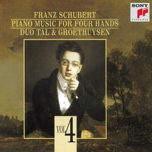 Schubert: Piano Music for Four Hands, Vol. IV