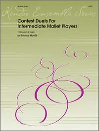 Houllif, M: Contest Duets For Intermediate Mallet Players