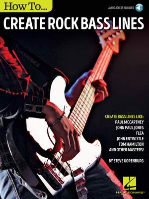 Steve Gorenberg: How to Create Rock Bass Lines